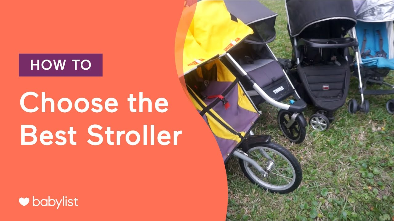 How to choose the right baby stroller – Buying guide